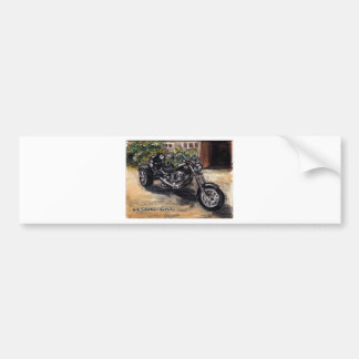 Trike Bumper Stickers Car Stickers Zazzle - Custom motorcycle bumper stickers awareness