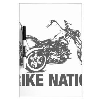 Trike nation dry erase board