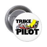 Trike Pilot 2 Inch Round Button