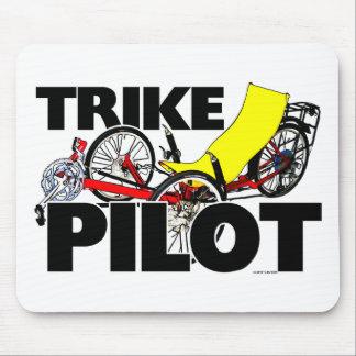 Trike Pilot Mouse Pad