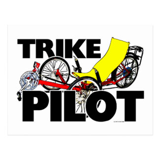 Trike Pilot Postcard