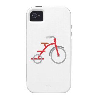 Trike rojo Case-Mate iPhone 4 carcasas