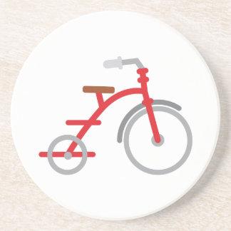Trike rojo posavasos diseño