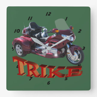 Trike Square Wall Clock