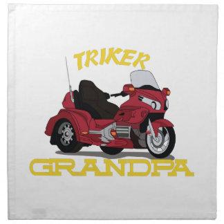 Triker Grandpa Napkin