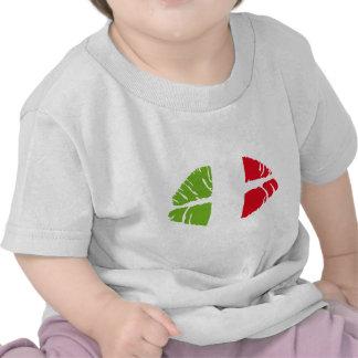 trikolore de Italia Camisetas