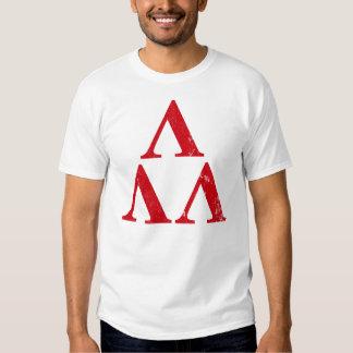 trilambda geek nerd tshirt