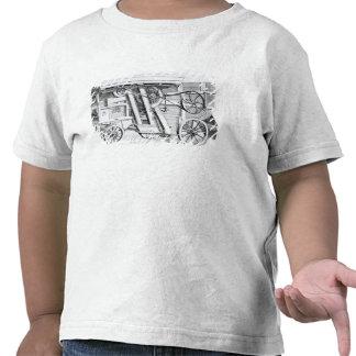 Trilla combinada patente de Garrett y de los hijos Camisetas