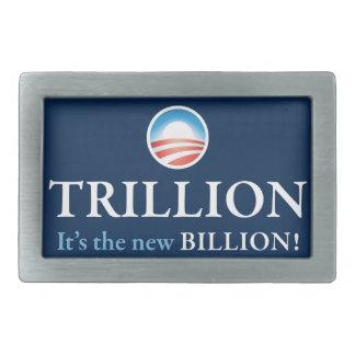 TRILLION IS THE NEW BILLION BELT BUCKLES