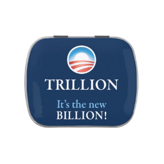 TRILLION IS THE NEW BILLION JELLY BELLY TINS