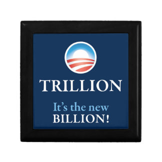 TRILLION IS THE NEW BILLION TRINKET BOXES