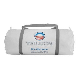 TRILLION IS THE NEW BILLION GYM DUFFEL BAG