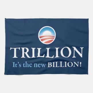 TRILLION IS THE NEW BILLION HAND TOWEL