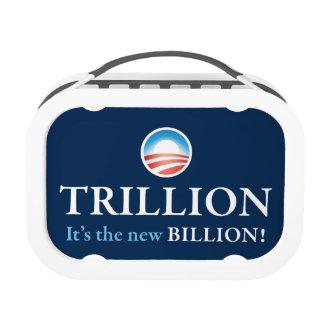 TRILLION IS THE NEW BILLION YUBO LUNCH BOX