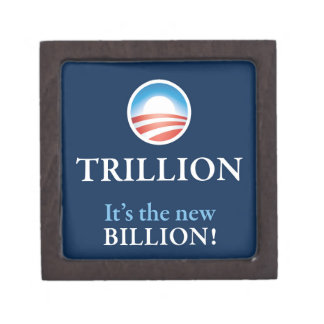 TRILLION IS THE NEW BILLION PREMIUM TRINKET BOX