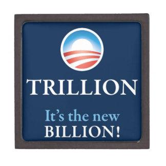 TRILLION IS THE NEW BILLION PREMIUM KEEPSAKE BOXES