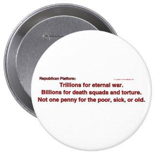 TrillionsEternalWar Pinback Button