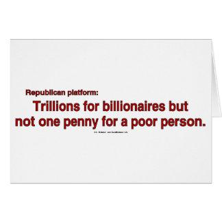 TrillionsPenny Tarjeta De Felicitación