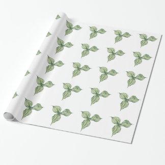 Trillium Bud Wrapping Paper