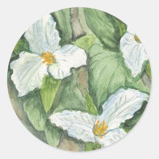 Trillium Classic Round Sticker