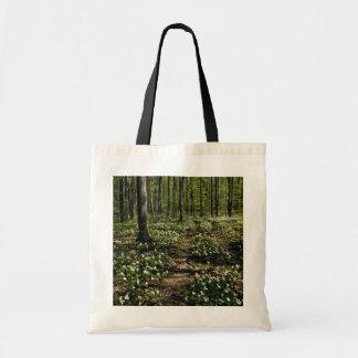 Trilliums, arboreto de Morgan, rojo de Montreal, Q Bolsa De Mano