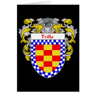 Trillo Coat of Arms/Family Crest Card