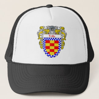 Trillo Coat of Arms/Family Crest Trucker Hat
