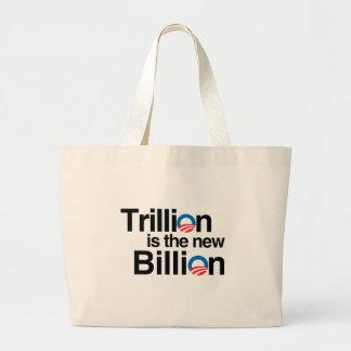 TRILLÓN ES EL NUEVO MIL MILLONES BOLSA TELA GRANDE