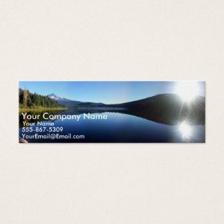 Trillum Lake Mini Business Card