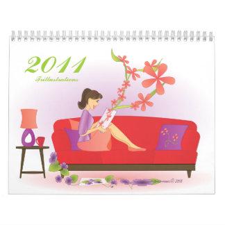 Trillustrations 2011 calendarios