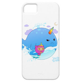 Trilly & Narwhal iPhone SE/5/5s Case
