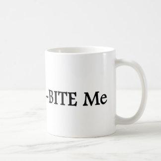 Trilo Bite Me Classic White Coffee Mug