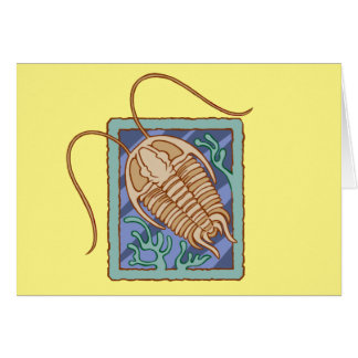 Trilobite Greeting Cards