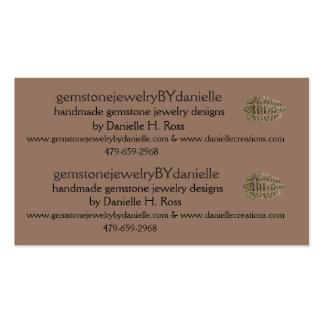 trilobite, gemstonejewelryBYdanielle... Business Card