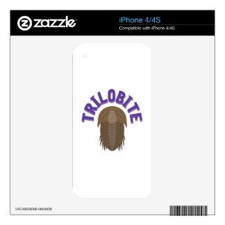 Trilobite iPhone 4S Decals