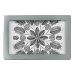 Trilobite Mandala Rectangular Belt Buckles