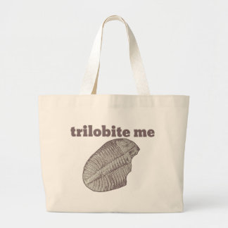 Trilobite Me Canvas Bag