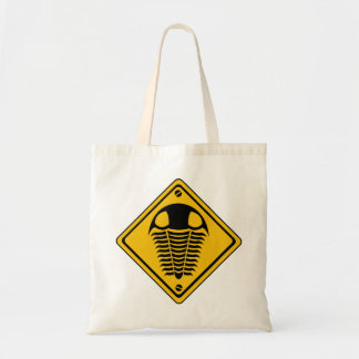 TRILOBITE Road Sign Canvas Bag