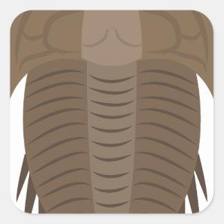 Trilobite Square Sticker