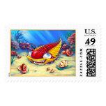 Trilobite Stamps