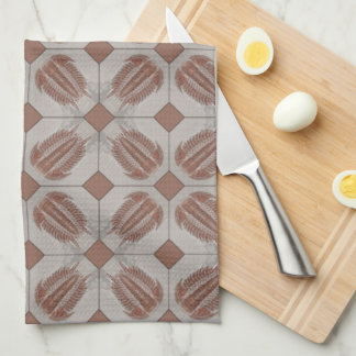 Trilobite Tile Towel