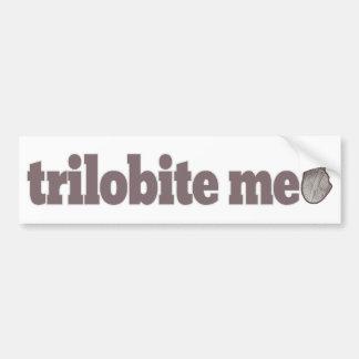 Trilobite yo pegatina de parachoque