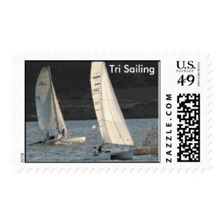 Trimaran Sailing Postage