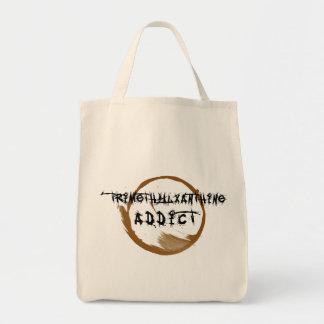 TriMeth Addict Light Bag Grocery Tote Bag