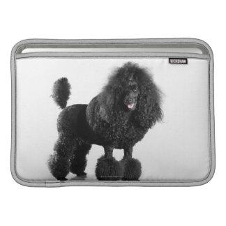 Trimmed black Poodle MacBook Air Sleeves