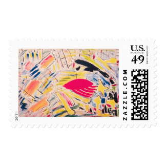 Trimmed Medium sized Stamp