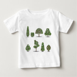 Trimmed tree bush collection Stylized T Shirt