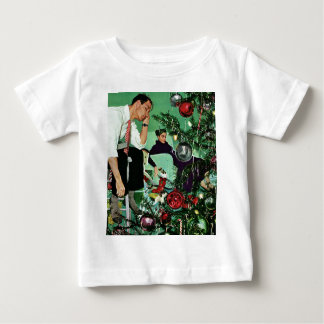Trimming the Tree Baby T-Shirt