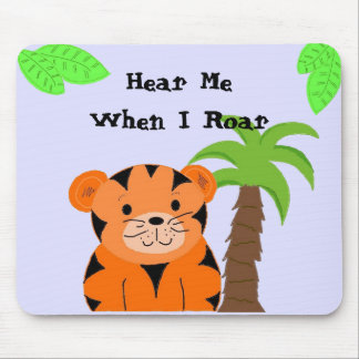 Trina the Tiger Mouse Pad