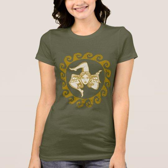 Trinacria Gold t-shirt